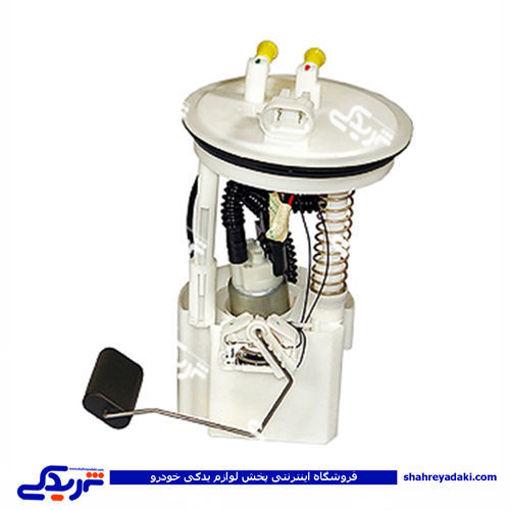 تصویر از پمپ بنزین انژکتور داخل باک کامل وانت باردو
